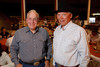 (Denver, Colorado, Sept. 9, 2010)<br /> Randy Pennington and George Eidsness.  The 2010 Hide Party, recognizing the winning bidders of the 2010 Auction of Junior Livestock Champions, at the National Western Stadium Arena in Denver, Colorado, on Thursday, Sept. 9, 2010.<br /> STEVE PETERSON