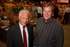 (Denver, Colorado, Sept. 9, 2010)<br /> Chuck Ward (Qwest Colorado president, Denver Metro Chamber of Commerce board of directors chair) and Robert Blankenship (DMCC COO).  The 2010 Hide Party, recognizing the winning bidders of the 2010 Auction of Junior Livestock Champions, at the National Western Stadium Arena in Denver, Colorado, on Thursday, Sept. 9, 2010.<br /> STEVE PETERSON