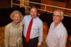 (Denver, Colorado, Sept. 9, 2010)<br /> Judy Grant, Darren Markley (U.S. Bank), and Newell Grant.  The 2010 Hide Party, recognizing the winning bidders of the 2010 Auction of Junior Livestock Champions, at the National Western Stadium Arena in Denver, Colorado, on Thursday, Sept. 9, 2010.<br /> STEVE PETERSON