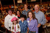 (Denver, Colorado, Sept. 9, 2010)<br /> John DellaSalle, Julia DellaSalle, Pam Basey, Spencer DellaSalle, Duncan Kenney, Angela DellaSalle, and Jim Basey.  The 2010 Hide Party, recognizing the winning bidders of the 2010 Auction of Junior Livestock Champions, at the National Western Stadium Arena in Denver, Colorado, on Thursday, Sept. 9, 2010.<br /> STEVE PETERSON