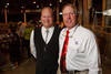 (Denver, Colorado, Sept. 9, 2010)<br /> Gregg Moss and Dave Sogge.  The 2010 Hide Party, recognizing the winning bidders of the 2010 Auction of Junior Livestock Champions, at the National Western Stadium Arena in Denver, Colorado, on Thursday, Sept. 9, 2010.<br /> STEVE PETERSON