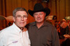 (Denver, Colorado, Sept. 9, 2010)<br /> Buck Hutchison and Ron Morris.  The 2010 Hide Party, recognizing the winning bidders of the 2010 Auction of Junior Livestock Champions, at the National Western Stadium Arena in Denver, Colorado, on Thursday, Sept. 9, 2010.<br /> STEVE PETERSON