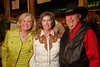 (Denver, Colorado, Sept. 9, 2010)<br /> Stacey Ferguson, Kelsey Alexander, and Don Crews.  The 2010 Hide Party, recognizing the winning bidders of the 2010 Auction of Junior Livestock Champions, at the National Western Stadium Arena in Denver, Colorado, on Thursday, Sept. 9, 2010.<br /> STEVE PETERSON