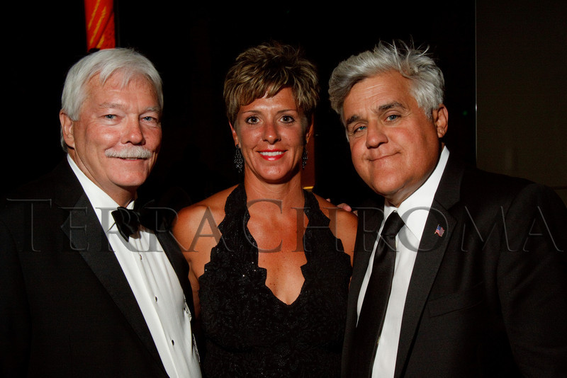 "(Denver, Colorado, Sept. 11, 2010)<br /> Gary and Tracey Corbett with Jay Leno.  The Children's Hospital hosts ""Gala 2010--What Matters Most"" at the Hyatt Regency Denver at the Colorado Convention Center in Denver, Colorado, on Saturday, Sept. 11, 2010.<br /> STEVE PETERSON"