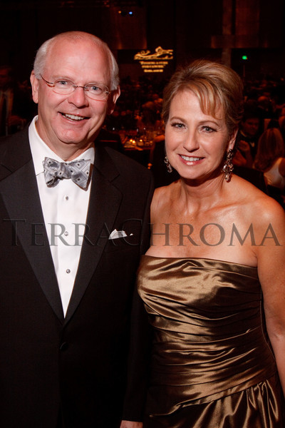 "(Denver, Colorado, Sept. 11, 2010)<br /> Rick and Janie Stoddard.  The Children's Hospital hosts ""Gala 2010--What Matters Most"" at the Hyatt Regency Denver at the Colorado Convention Center in Denver, Colorado, on Saturday, Sept. 11, 2010.<br /> STEVE PETERSON"