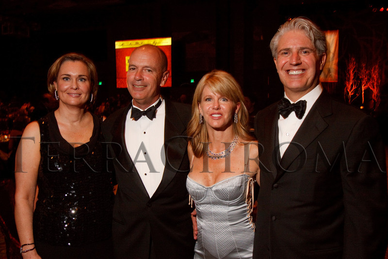 "(Denver, Colorado, Sept. 11, 2010)<br /> John and Bridget Grier with Virginia and Scott Reiman.  The Children's Hospital hosts ""Gala 2010--What Matters Most"" at the Hyatt Regency Denver at the Colorado Convention Center in Denver, Colorado, on Saturday, Sept. 11, 2010.<br /> STEVE PETERSON"