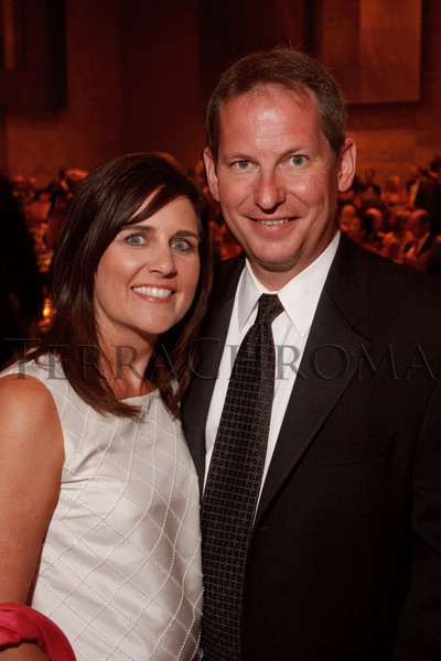 "(Denver, Colorado, Sept. 11, 2010)<br /> Kim and Steve Winesett.  The Children's Hospital hosts ""Gala 2010--What Matters Most"" at the Hyatt Regency Denver at the Colorado Convention Center in Denver, Colorado, on Saturday, Sept. 11, 2010.<br /> STEVE PETERSON"