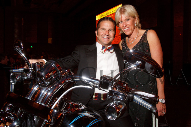 """(Denver, Colorado, Sept. 11, 2010)<br /> Michael and Kelly Kennedy.  The Children's Hospital hosts """"Gala 2010--What Matters Most"""" at the Hyatt Regency Denver at the Colorado Convention Center in Denver, Colorado, on Saturday, Sept. 11, 2010.<br /> STEVE PETERSON"""