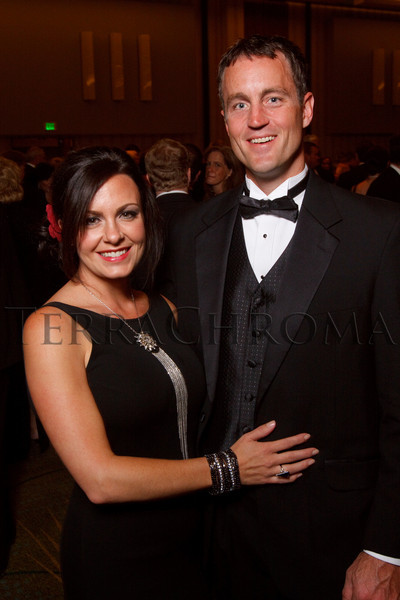 "(Denver, Colorado, Sept. 11, 2010)<br /> Ellie and Ryan Ward.  The Children's Hospital hosts ""Gala 2010--What Matters Most"" at the Hyatt Regency Denver at the Colorado Convention Center in Denver, Colorado, on Saturday, Sept. 11, 2010.<br /> STEVE PETERSON"