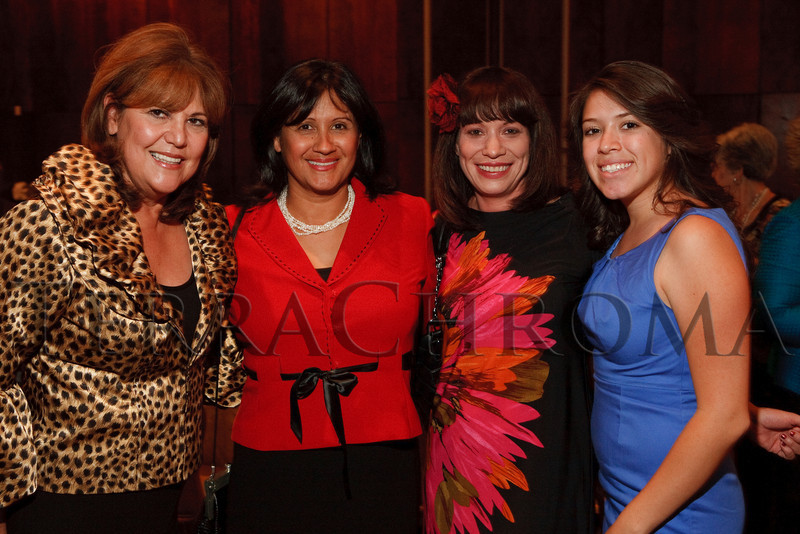 "(Denver, Colorado, Sept. 16, 2010)<br /> , Anita Padilla-Fitzgerald, Heather Alvarado, and Ericka Jaurado.  Denver Rescue Mission High Tea, themed ""Women Who've Changed the Heart of the City,"" at the Brown Palace Hotel in Denver, Colorado, on Thursday, Sept. 16, 2010.<br /> STEVE PETERSON"