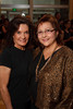 "(Denver, Colorado, Sept. 16, 2010)<br /> Linda Alvarado and Dr. Darlene LeDoux (Archuleta Elementary School principal).  The ""Spirit of Tlatelolco Awards"" reception, benefiting Escuela Tlatelolco, at the Denver Center for Performing Arts in Denver, Colorado, on Thursday, Sept. 16, 2010.<br /> STEVE PETERSON"