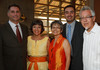 "(Denver, Colorado, Sept. 16, 2010)<br /> Five of the awardees:  C. Ray Drew, Judy Montero, Karen Nakandakare, Antonio Esquibel, Jr., and Carlos Fresquez.  The ""Spirit of Tlatelolco Awards"" reception, benefiting Escuela Tlatelolco, at the Denver Center for Performing Arts in Denver, Colorado, on Thursday, Sept. 16, 2010.<br /> STEVE PETERSON"