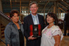 "(Denver, Colorado, Sept. 16, 2010)<br /> Adrienne Benavidez, John Hickenlooper (Denver mayor), and Nita Gonzales.  The ""Spirit of Tlatelolco Awards"" reception, benefiting Escuela Tlatelolco, at the Denver Center for Performing Arts in Denver, Colorado, on Thursday, Sept. 16, 2010.<br /> STEVE PETERSON"
