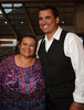 "(Denver, Colorado, Sept. 16, 2010)<br /> Yolanda Ortega and Jesse Ogas.  The ""Spirit of Tlatelolco Awards"" reception, benefiting Escuela Tlatelolco, at the Denver Center for Performing Arts in Denver, Colorado, on Thursday, Sept. 16, 2010.<br /> STEVE PETERSON"