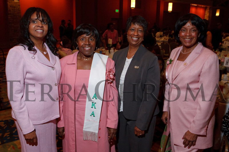 (Denver, Colorado, Sept. 18, 2010)<br /> Rosemarie Allen, Mary Ann Townsend, Gwendolyn Lee, and Deborah Parsons.  The First Annual M.O.D.E.L. Awards Luncheon, hosted by the Epsilon Nu Omega Chapter of the Alpha Kappa Alpha Sorority, Inc., and the Epsilon Nu Omega Endowment Fund, at the Denver Marriott Tech Center in Denver, Colorado, on Saturday, Sept. 18, 2010.<br /> STEVE PETERSON