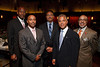 (Denver, Colorado, Sept. 18, 2010)<br /> Rev. Douglas Farley, Lawrence Borom, Ronald Fontenot, Greg Labrie, and Derrick Fuller.  The First Annual M.O.D.E.L. Awards Luncheon, hosted by the Epsilon Nu Omega Chapter of the Alpha Kappa Alpha Sorority, Inc., and the Epsilon Nu Omega Endowment Fund, at the Denver Marriott Tech Center in Denver, Colorado, on Saturday, Sept. 18, 2010.<br /> STEVE PETERSON