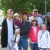 2010 Boston Heart Walk, Eric, Katie, Tracie, Jessica, me, Erin