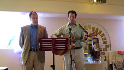 "Avram (r) and Uncle David lead ""With My Own Two Hands"", by Ben Harper (video by David Fifer)"