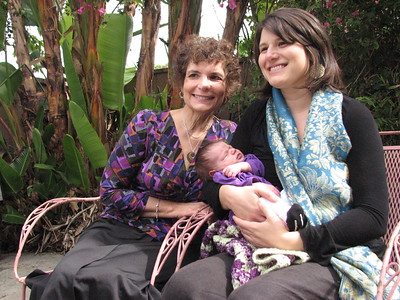 Grandma Hope with daughter and granddaughter (photo by Jamie Trachtenberg)