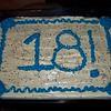 Shannon's birthday cake.