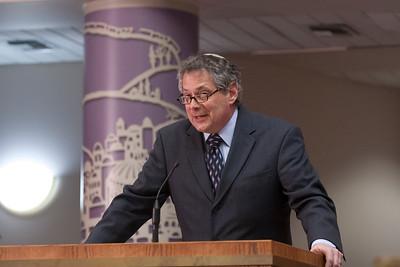 Rabbi Jack Moline gives opening remarks