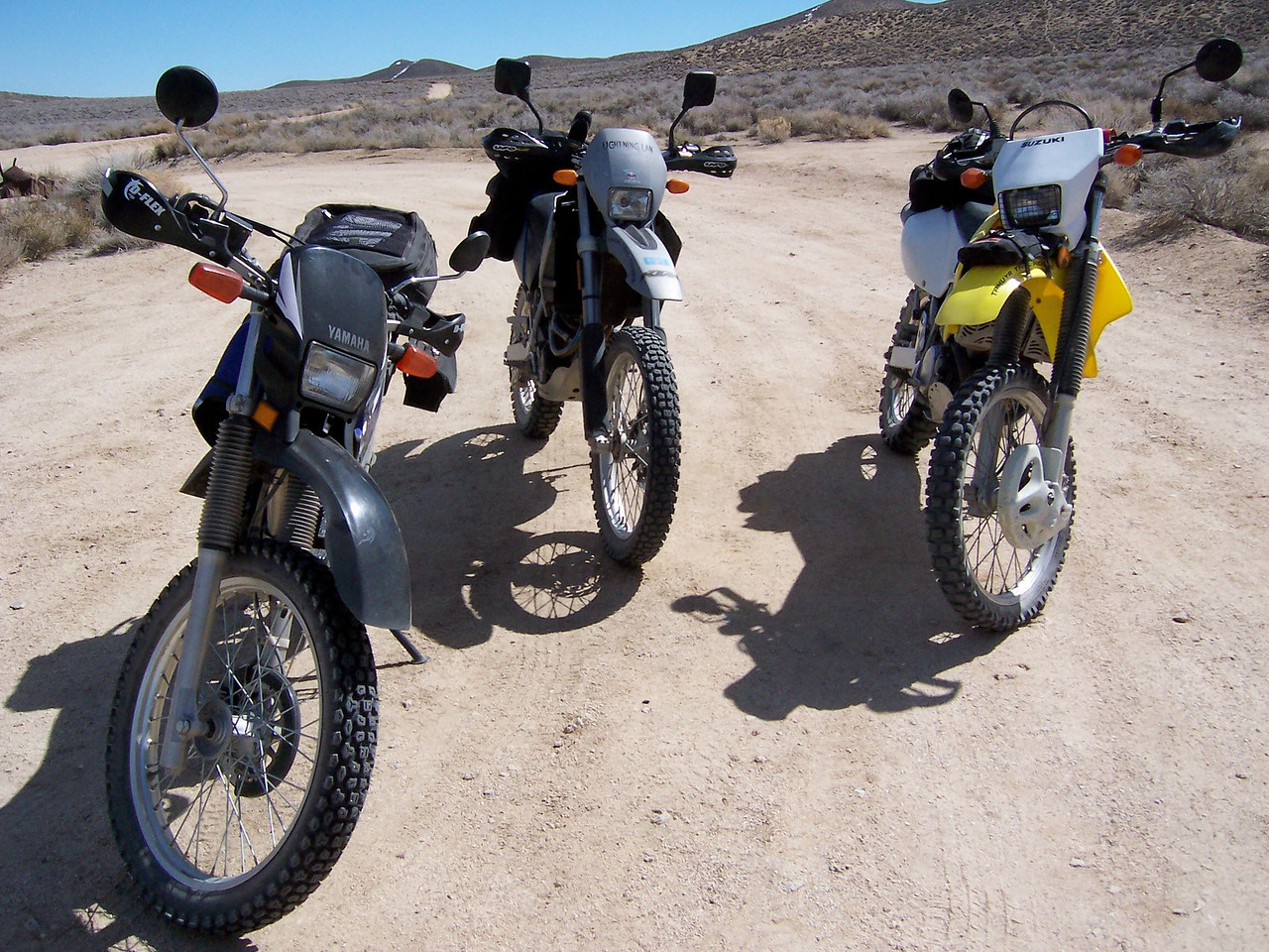 These bikes worked out to be good choices for what we rode..