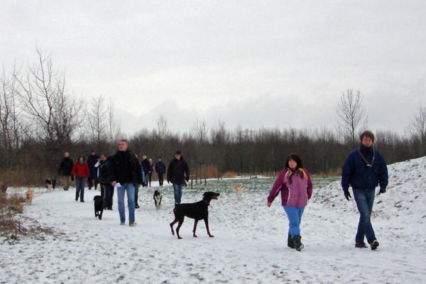Snertwandeling ~ 10 januari 2010