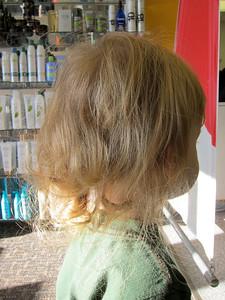 Before the haircut...