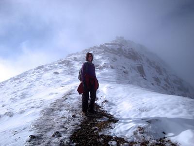 Screen slope below Snowdon Vanessa