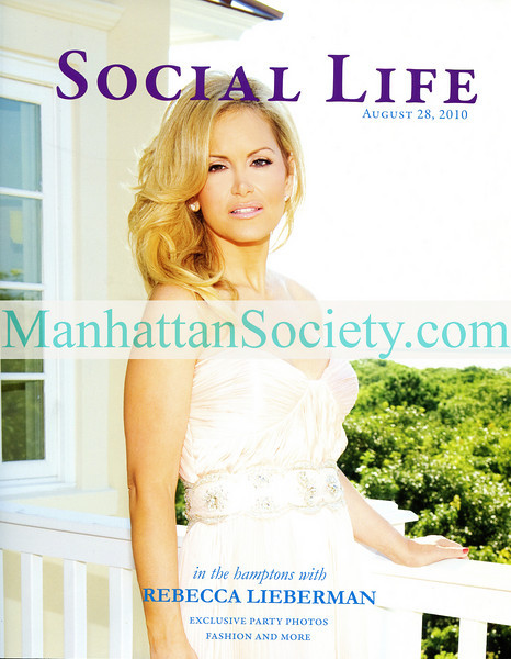 NEW YORK-AUGUST 25: Rebecca Lieberman Social Life Magazine Cover shot by Gregory Partanio at Social Life Magazine Party to Celebrate Cover Model Rebecca Lieberman on Wednesday, August 25, 2010 at BESU Salon & Day Spa, 210 Third Avenue, between 19th & 20th Streets, New York City, NY   (PHOTO CREDIT: ©Manhattan Society.com 2010 by Gregory Partanio with Chris London)