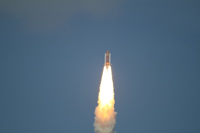 Atlantis, T plus 16 seconds after liftoff