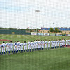 National Anthem at Opening Round game against Avila<br /> photo courtesy of Tim Herrell (YC Class of '79)