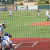 The windup and another pitch leading to an out.<br /> photo courtesy of Tim Herrell (YC class of '79)