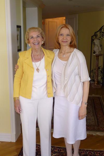 Nonna and Aunt Elizabeth