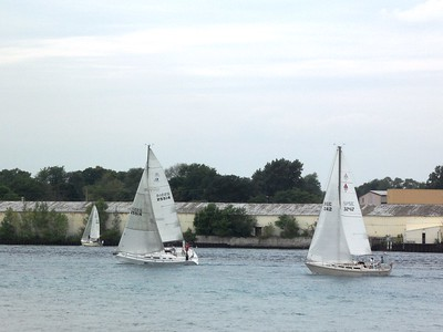 St Clair River race