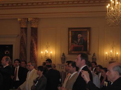 Portrait of Benjamin Franklin in The Benjamin Franklin State Dining Room