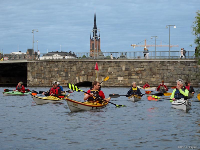 Mot Klara sjö och Karlbergskanalen