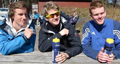Anders Smedsrud (CR), Erik Sebastian Ranberg (CR) og Hans Kristian  Willadsen (Fredrikstad)