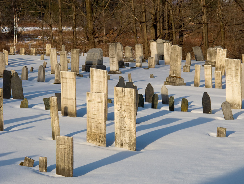 Stowe village, cemetery