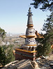 Stupa at the Four Great Regions temple