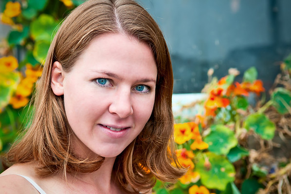 Model: Susannah Oberdorf Taken on August 1, 2010 in Half Moon Bay, California.