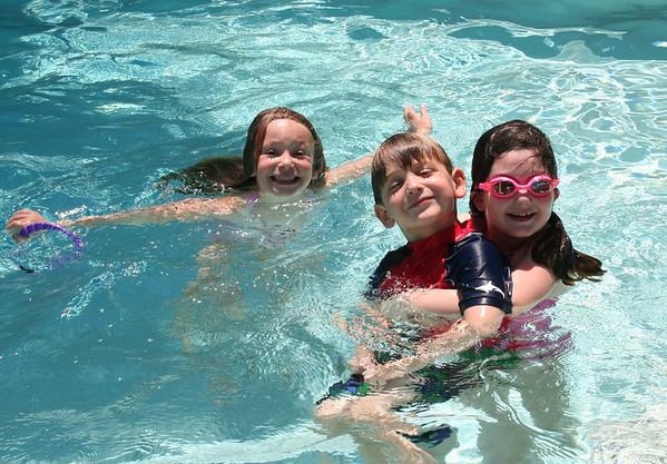 Swimming at Nana's