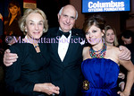 NEW YORK-OCTOBER 9:   Elaine Langone, Ken Langone, Maria Bartiromo attend The Columbus Citizens Foundation 66th Annual Gala Dinner on Saturday, October 9, 2010 at The Grand Ballroom, Waldorf Astoria Hotel, New York City. NY (PHOTO CREDIT: ©Manhattan Society.com 2010 by Christopher London)