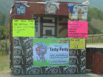 Testicle Festival near Butte