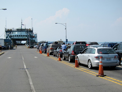 Waiting for the ferry home