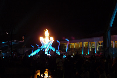 The Olympic Flame in Vancouver