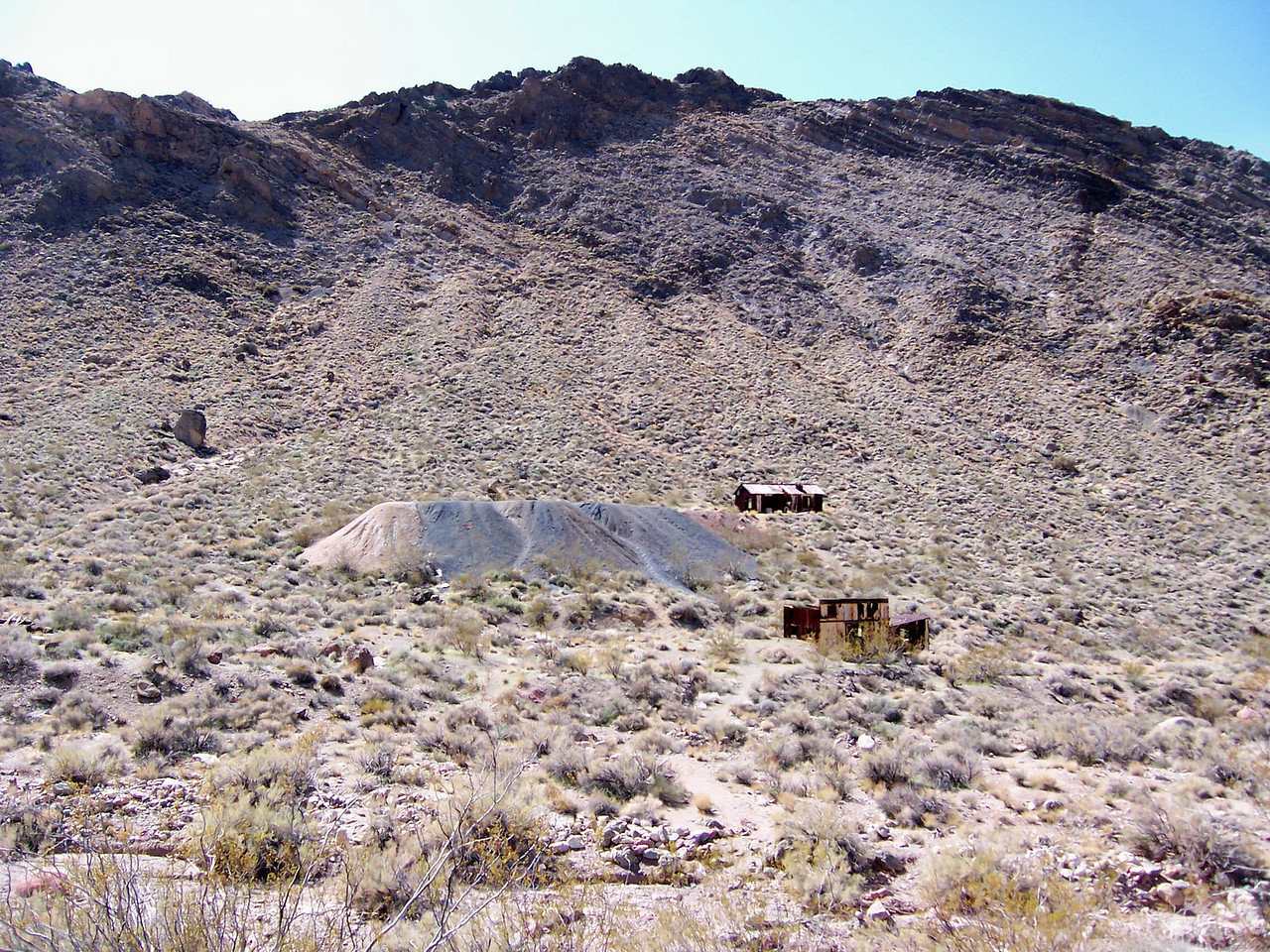 Old mines at Leadfield
