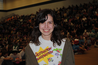 NH-DI Scholarship Recipient Maggie Thompson, a senior from Hopkinton High School has an outstanding record of sevice at numerous levels to NH Destination ImagiNation and has made a positive impact locally and with team members around the state.