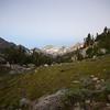 False dawn above Rock Creek