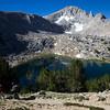 Descending above Trail Lakes